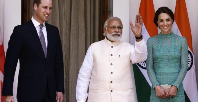 Modi presented book, shawl to Prince William, Kate