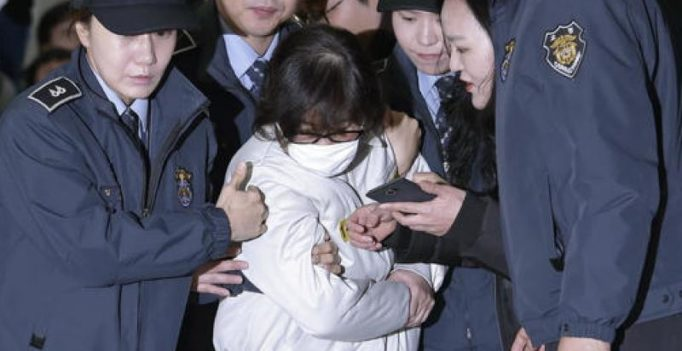 Korean President Geun-hye's confidante's daughter arrested