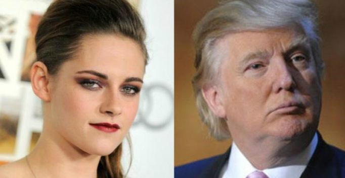 Trump was really obsessed with me couple of years ago: Kristen Stewart