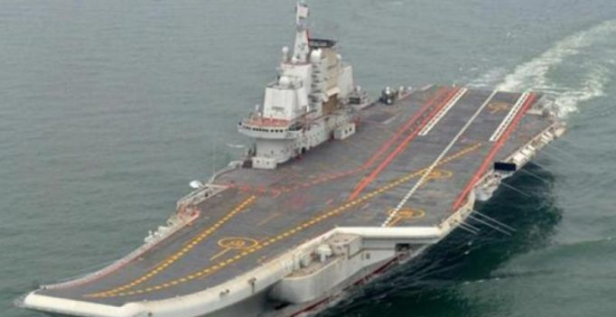 Taiwan scrambles jets, navy as China aircraft carrier enters its strait