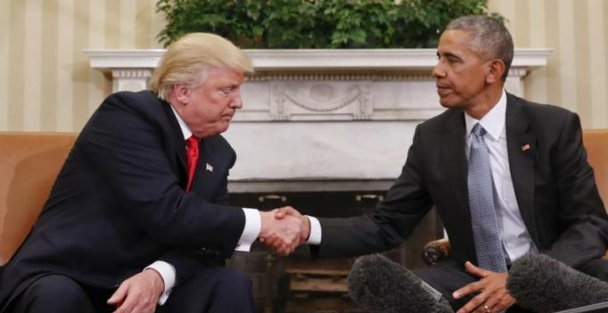 Donald Trump asks 50 senior officials appointed by Obama to stay on