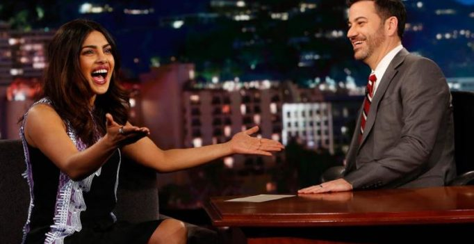 Forget Deepika, Priyanka proves she's the spiciest on Jimmy Kimmel Live