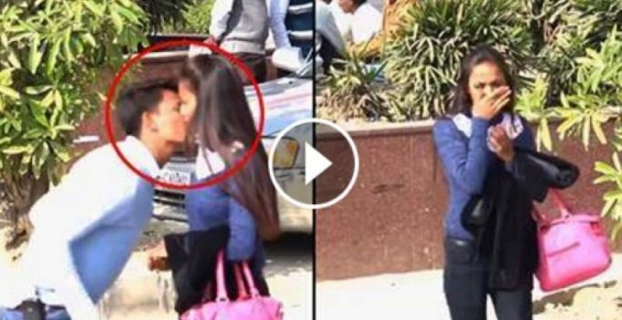 Delhi YouTuber who kissed women as part of a prank issues apology