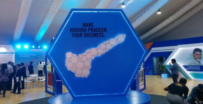 Andhra Pradesh invited investors with this logo and things got awkward