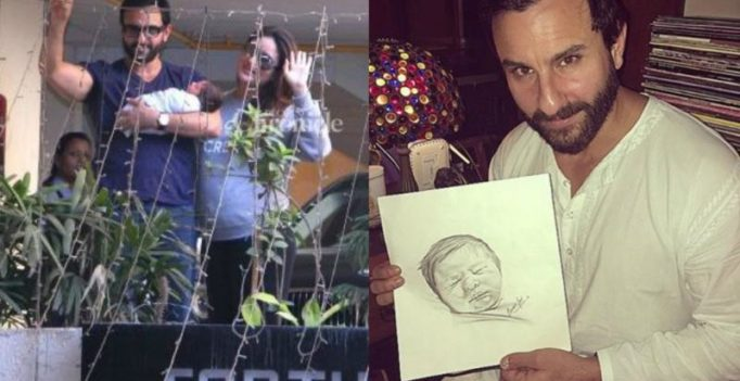 This sketch of Saif-Kareena's son Taimur is just too adorable