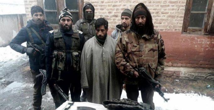 J&K police apprehends LeT terrorist in Handwara