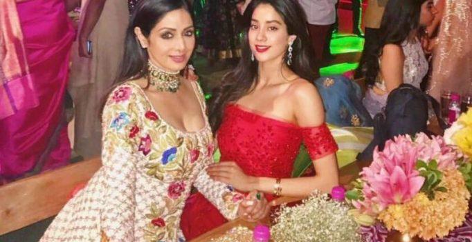 Jhanvi Kapoor sends temperatures soaring alongside mom Sridevi