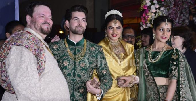 Take a look inside Neil Nitin Mukesh-Rukmini's lavish wedding reception!