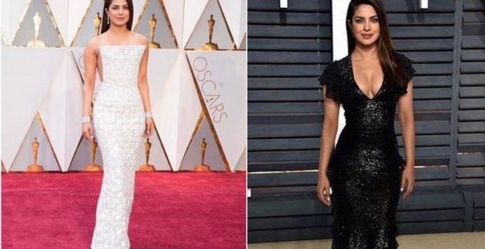 From white to black, Priyanka makes a bold statement at Oscars after-party!