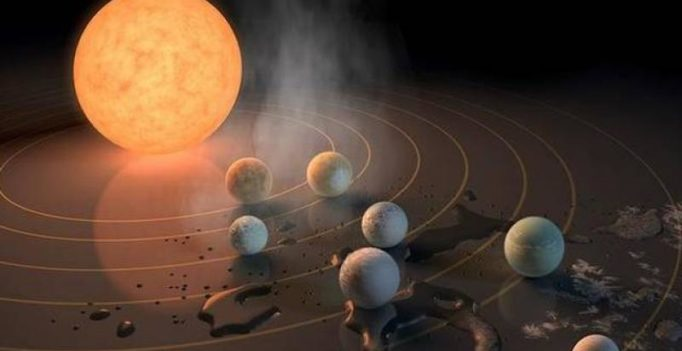 Cool facts about 7 Earth-size planets circling single star