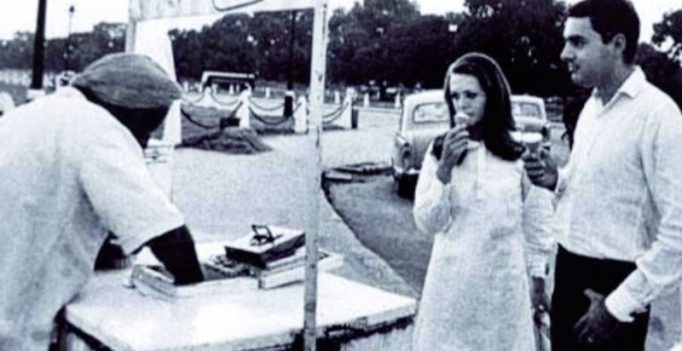 Rajiv and Sonia Gandhi's love story to be recreated