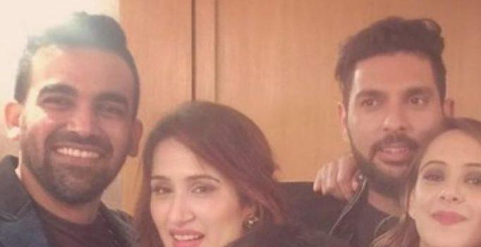 Yuvraj Singh teases Zaheer Khan's reported girlfriend Sagarika Ghatge