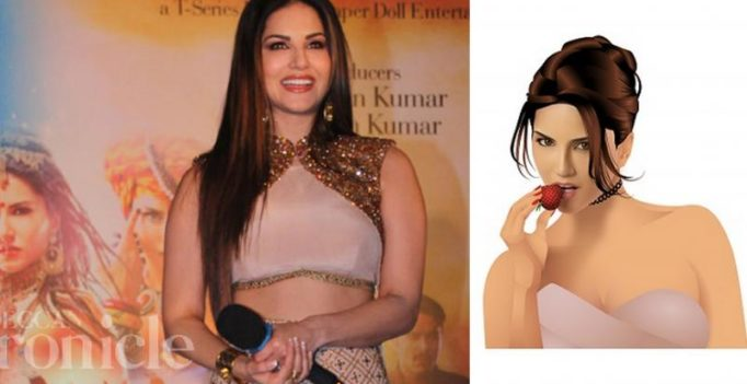 Sunny Leone to enter smartphone chats in the form of sultry stickers