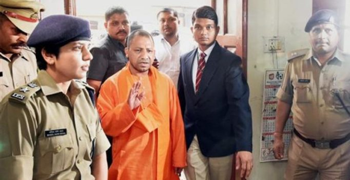 Keep rule of law, Yogi tells UP cops in surprise visit; 100 cops suspended in 5 days