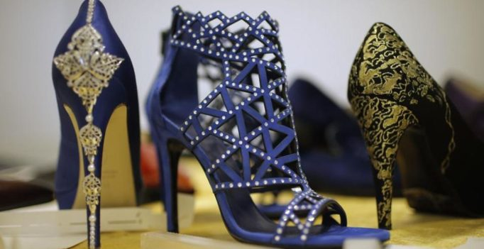 In Pics: Italian artisan crafts 24-carat gold shoes