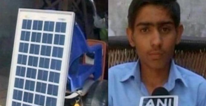13-year Haryana teen develops solar powered bike
