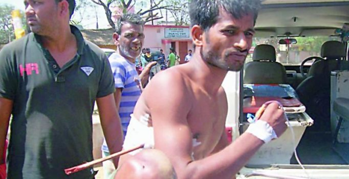 Odisha: Youth hit by arrow in group clash