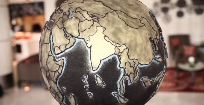 Restaurant creates 'Chocolate Earth' to raise awareness about climate change