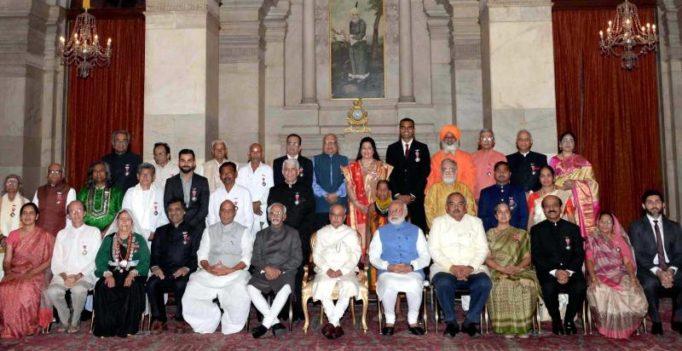 MM Joshi, Sharad Pawar, Virat Kohli, P A Sangma conferred Padma Vibhushan