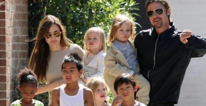 Brad Pitt secretly spent time with kids at Angelina Jolie's film sets in Cambodia?