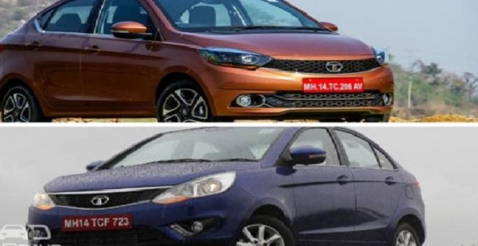 Two Tata cars clash each other, Tata Tigor Vs Tata Zest