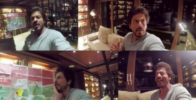 Watch: Shah Rukh's Mannat gets haunted by a ghost, but he wants to kiss her