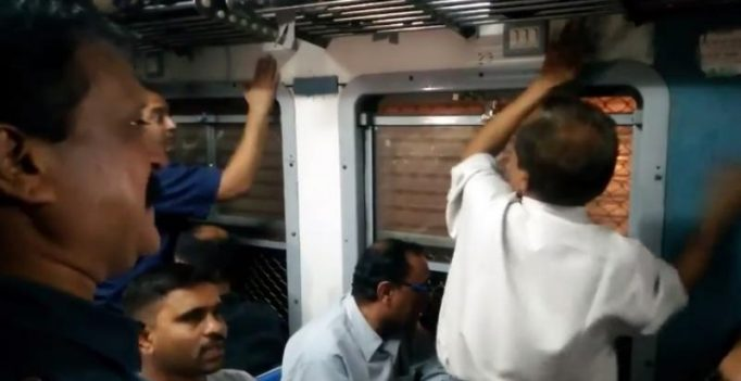 Video: Commuters' impromptu jam session in Mumbai local train wins fans