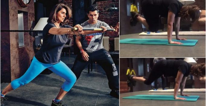 Watch: Neetu Singh doing TRX workout will make you hit the gym!
