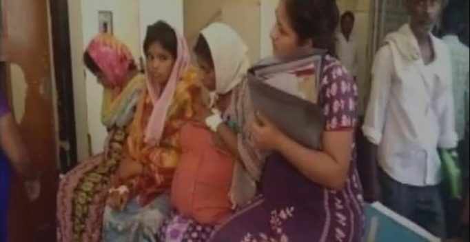 Karnataka: 4 pregnant women carried on one stretcher in govt hospital