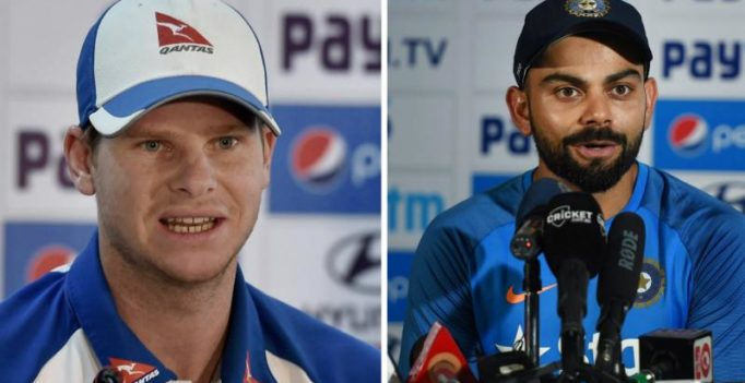 Things heat up as Virat Kohli, Steve Smith exchange verbal blows in press conference