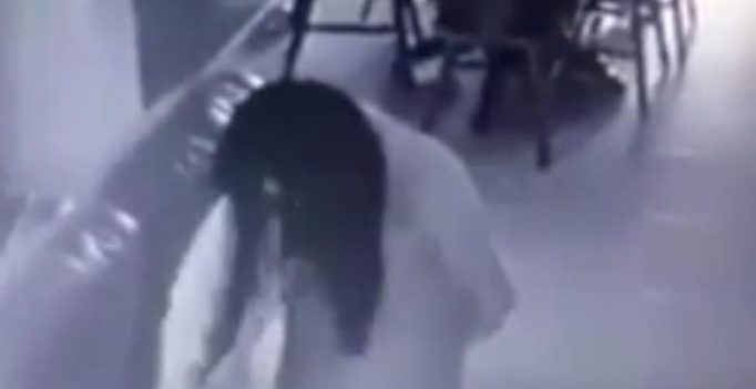 Chilling footage shows Singaporean woman getting 'possessed by evil spirits'