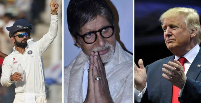 Amitabh Bachchan thanks Australian media for Virat Kohli-Donald Trump comparison