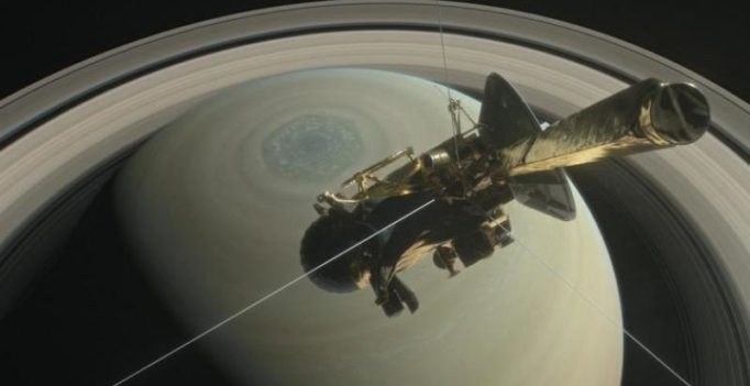 One last ride for NASA's Cassini