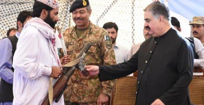 Around 500 Baloch rebel militants surrender, pledge allegiance to Pakistan