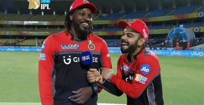 Video: Virat Kohli, Chris Gayle share experiences about their opening partnerships