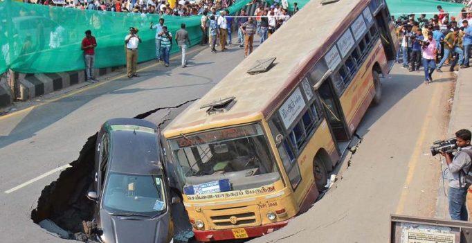 Chennai: Light Sunday traffic mitigates situation, passengers mostly unhurt