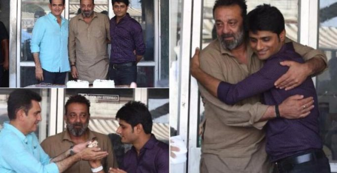 Sanjay Dutt gets emotional on last day of his comeback film Bhoomi
