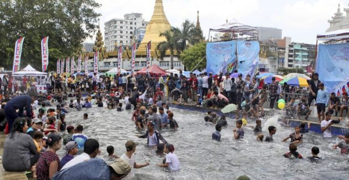 285 killed, over 1000 injured during Myanmar's Thingyan Water Festival