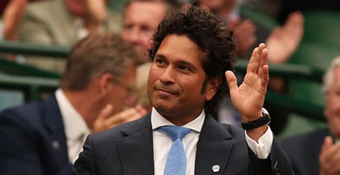Video: Sachin Tendulkar gives road-safety advice to bikers without helmets