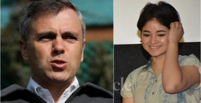 Former J&K CM Omar Abdullah congratulates Zaira Wasim on winning National Award