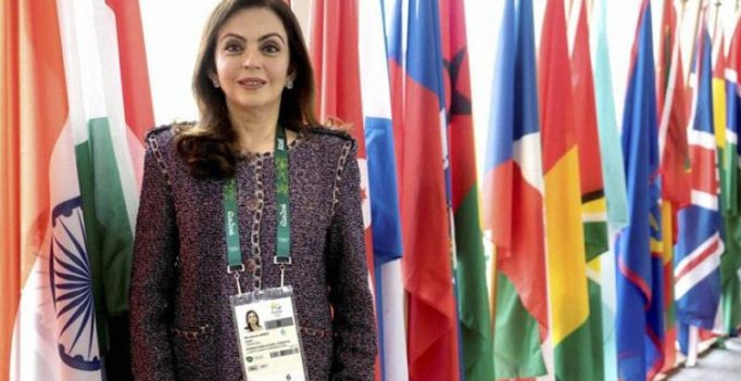 Nita Ambani made member of IOC's Olympic Channel Commission