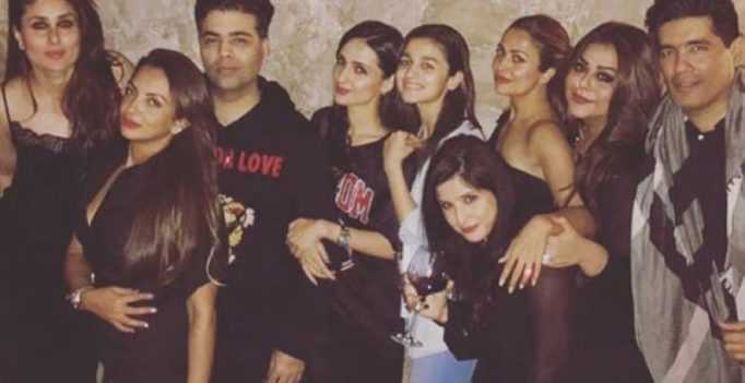 Inside pics: Saif-Kareena, Sid-Alia and Karan Johar party like there's no tomorrow