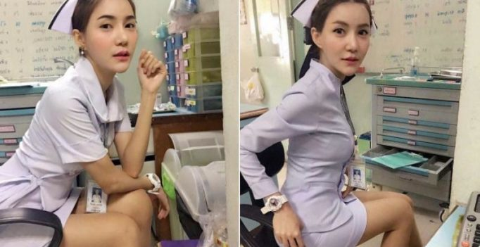 Thai nurse forced to resign over 'provocative' viral picture