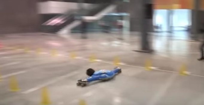 Video: Delhi boy creates new record in limbo skating