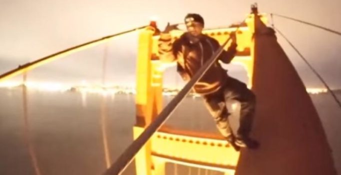 Video: Breathtaking stunt by teens climbing Golden Gate Bridge without safety gear