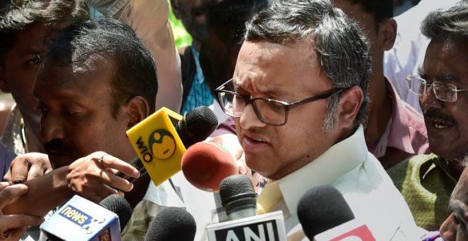 ED files money laundering case against Karti Chidambaram, Mukerjeas, others