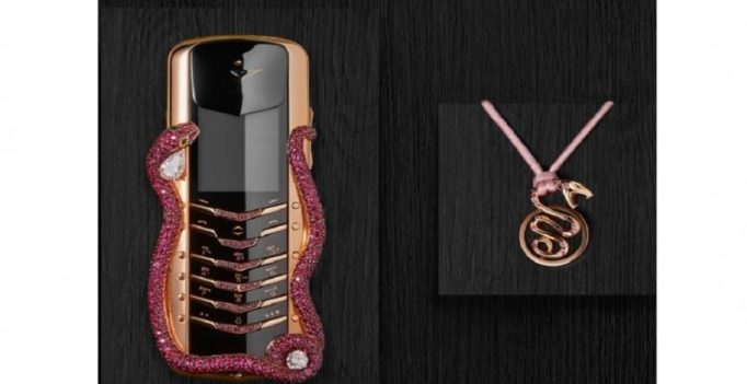 World's most expensive feature phone launched at Rs 2.3 crore
