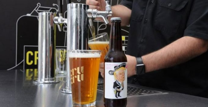 US, Mexican brewers craft Trump beer, turns out to be 'very bitter'