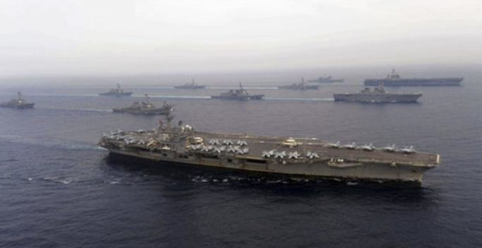 US carriers in Sea of Japan in show of force after N Korea's missile tests