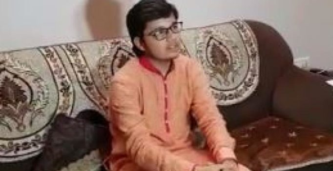 Gujarat student Varshil Shah who scored 99.99% opts to be monk